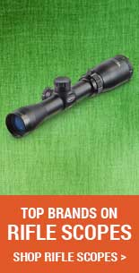"Rifle Scopes for Mossberg Patriot Combo, Bolt Action, .270 Winchester, 22"" Barrel, 3-9x40 Scope, 5+1 Rounds"